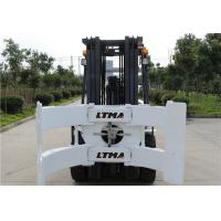 2.5 Ton 3 Ton Paper Roll Clamp Truck Forklift , Diesel Straight Mast Forklift Manufactures