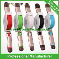 China Iphone 6/Micro 2in1 retractable data cable on sale