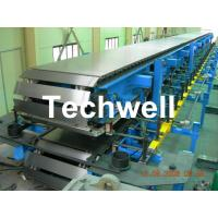 China Continuous Polyurethane Sandwich Panel Machine Line With 8m/min Forming Speed on sale