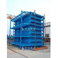Blue Color Adjustable Column Formwork Simple Structure Reusable Pier Form Manufactures