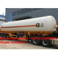 Factory sale lowest price China-made bulk road transported lpg gas tank, Wholesale best price lpg gas tank trailer Manufactures