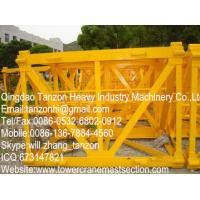 Tower Crane Mast Sections L68B2 structural steel sections Manufactures
