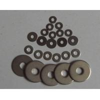 Electrogalvanizing Flat Metal Washers Carbon Steel Yellow / White Zinc Plated M3 - M56 Manufactures