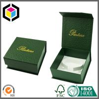 Luxury Green Color Paper Watch Box; Magnet Closure Watch Gift Box Manufactures