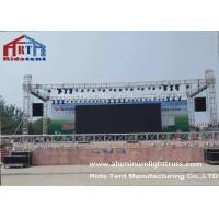 Heavy Duty Square Lighting Truss System Q235 Iron Material Hanging Stage Lighting