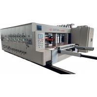 High Speed Four Color Ink Printing Slotting / Die Cutting Machine Configuration Description Manufactures