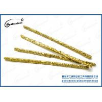 Copper And Tungsten Carbide Welding Rod For Low Carbon Steel Structure Manufactures