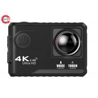 Voice Control EF100P Wifi 4K Action Camera 2.0 Touch Screen with Gyro and Remote, GPS Extension as option Manufactures
