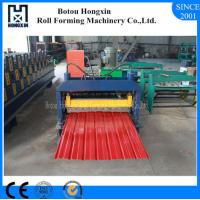 Durable Automatic Roll Forming Machine For Aluminum Plate Wall Panel Manufactures