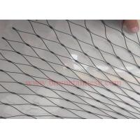 China Black Oxide stainless steel wire rope net on sale