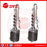 50L Professional Home Distilling Equipment 4 Plates , Vodka Distillation Kit Manufactures