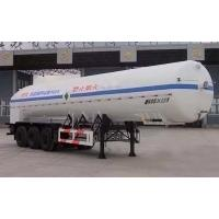 24000L-3 axles-Cryogenic Liquid Lorry Tanker for Liquid Oxygen Manufactures