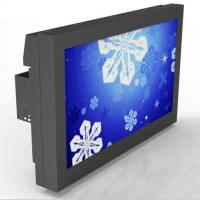 "Wall Mounted Outdoor LCD Display 43"" Steel Chassis With HDMI Input Manufactures"