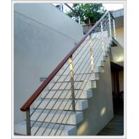 Stainless steel inox metal staircase railing design & stainless steel rod railing Manufactures