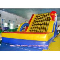 Rocking Motion In Adults ~ Outdoor pvc inflatable rock climbing wall adult fitness