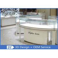 Quality Glass Wooden Jewellery Display Counter / Jewellery Shop Fittings for sale