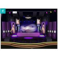 China Indoor / Outdoor Led Video Wall Full Colour on sale
