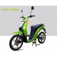 2 Wheels Pedal Assist Electric Bike , Electric Motor Assisted Bicycle 25-32km / H Speed for sale