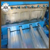 China steel deck sheet roll forming machine on sale