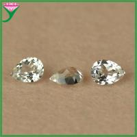 low price high quality machine cut pear synthetic rough 12# white corundum Manufactures
