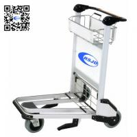 China 6063 high strength aluminum airport cart trolley airport luggage cart on sale
