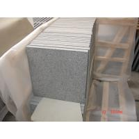 China Chinese G654 flamed Granite Tiles on sale