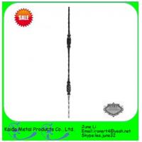 metal wrought  baluster for iron window grills Manufactures