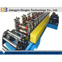 High Speed 0 - 15m/min Rolling Shutter Door Roll Forming Machine With 13 Stes Main Roller Manufactures