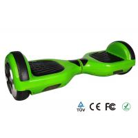 Green Portable Two Wheel Self Balancing Electric Scooter Led Remote Controller Manufactures