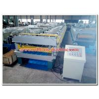 China Double Layer Metal Roll Forming Machine for Manufacturing Steel & Aluminium Roof Panels on sale
