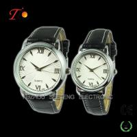 Elegant Couple Wrist Watch, alloy case, stainless steel backcase Manufactures