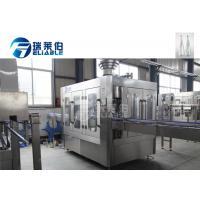 Small Capacity Glass Bottle Filler Purify Water Production Machine Stable Operated Manufactures