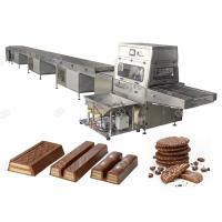 GG-CT Series Automatic Chocolate Enrobing Machine Production Line 380V / 220V Manufactures