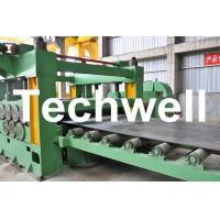 China Double Support Uncoiler Stainless Steel Cut To Length Machine Line TW-CTL1250 on sale