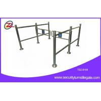 Manual turnstile Pedestrian Barrier Gate with hand push For Shopping Mall Manufactures