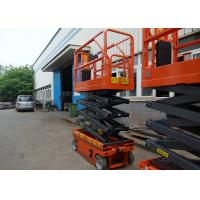 Working Sites Hydraulic Scissor Lift 5.8m Multi - Use For Aerial Maintenance Manufactures