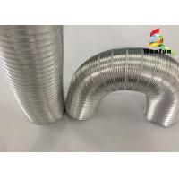 Quality House Ventilation Stretchable Semi Rigid Air Conditioning Flexible Aluminum Duct for sale