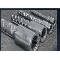 High Quality 45# Carbon Steel Rebar Couplers For Construction Projects Manufactures