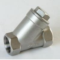 """Quality SCREWED END STAINLESS STEEL Y Type Strainer CF8 / CF8M 1/2"""" - 4"""" API 598 for sale"""
