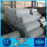 China 300g/m2 non woven needle punched geotextile fabric for road construction on sale