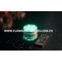 Waterproof LED Tea Lights Candle  / LED Submersible Tealight  for Wedding Decoration Lighting Manufactures