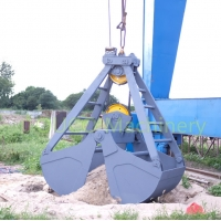Bulk Material 520mm Pully 8t Mechanical Grab Bucket Manufactures