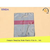 Breathable die cut handle flat bottom clear bags with a air hole perfect quality Manufactures