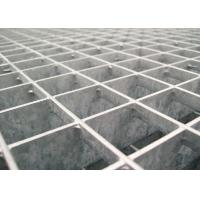 25 * 5 / 32 * 5 Pressure Locked Steel Grating Walkway 24 - 200mm Cross Bar Pitch Manufactures