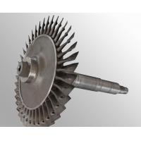 Custom made Raw casting plus machining vacuum investment casting steam turbine wheel Manufactures