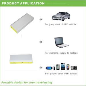 16000mAh emergency backup power bank  multifunction mini car jump starter Manufactures