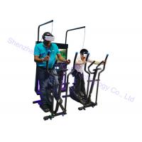 Quality Fitness Running Exercise 9D Vr Bike Simulator 2 Seats 500 Watt For Two Players for sale