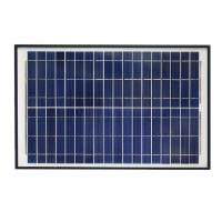 Blue 12V Solar Panel , Polycrystalline Silicon Solar Panel With Alligator Clip Manufactures