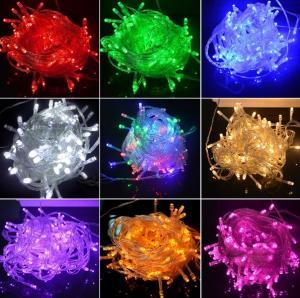 Twinkle Christmas Decorative String Lights , Led Strip Lights 220V / 110V Input Voltage Manufactures