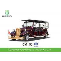 Street Legal 11 Seater Electric Vintage Cars For Real Estate And Hotel 72V/5KW Manufactures